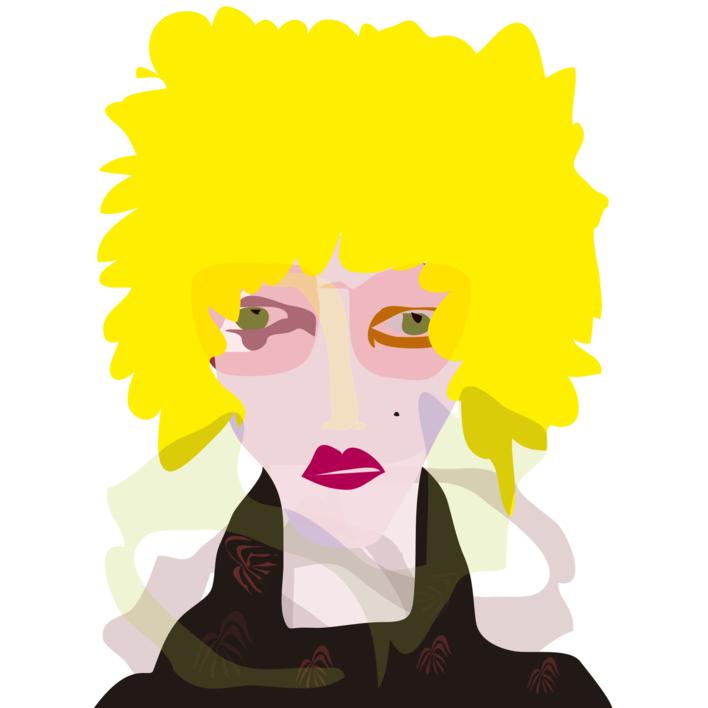 El chico rubio |Dibujo de Mariana sanz POPNTOPMAD | Compra arte en Flecha.es