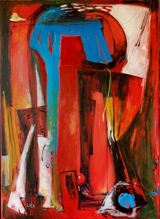 Santuario |Pintura de Lika | Compra arte en Flecha.es