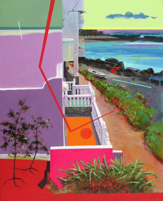 Paisaje Re-leido Nº 3 |Pintura de Benito Salmerón | Compra arte en Flecha.es