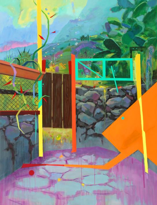 Paisaje Re-leido Nº 4 |Pintura de Benito Salmerón | Compra arte en Flecha.es