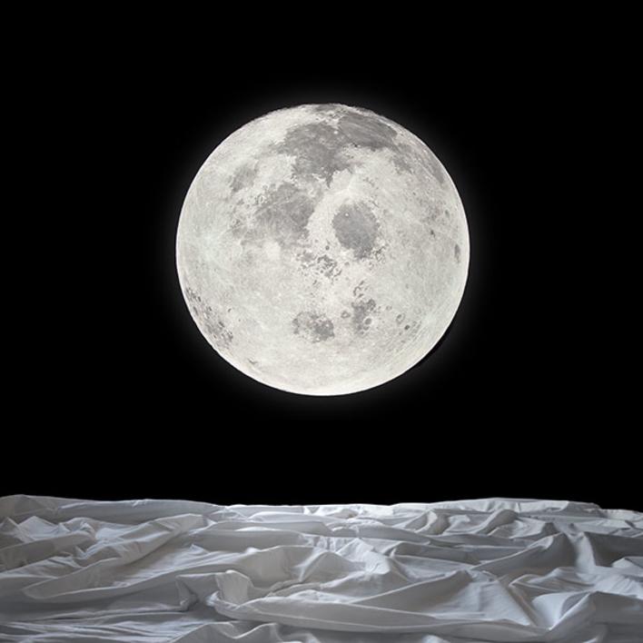 Noche de luna llena |Fotografía de Leticia Felgueroso | Compra arte en Flecha.es
