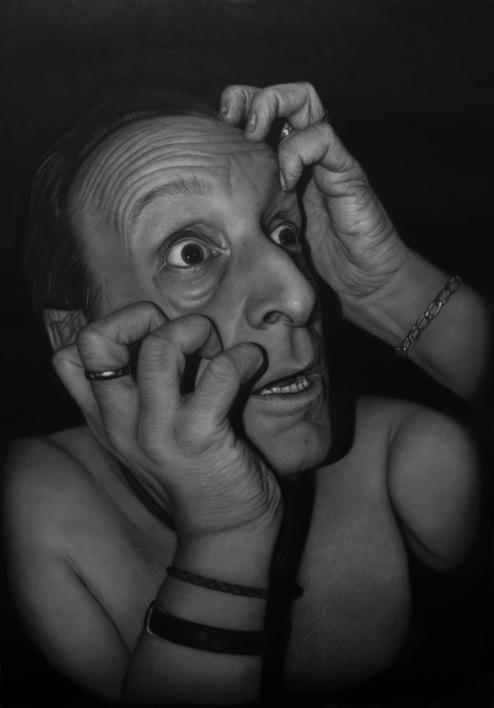 Delirium Tremens |Dibujo de Jose Díaz Ruano | Compra arte en Flecha.es