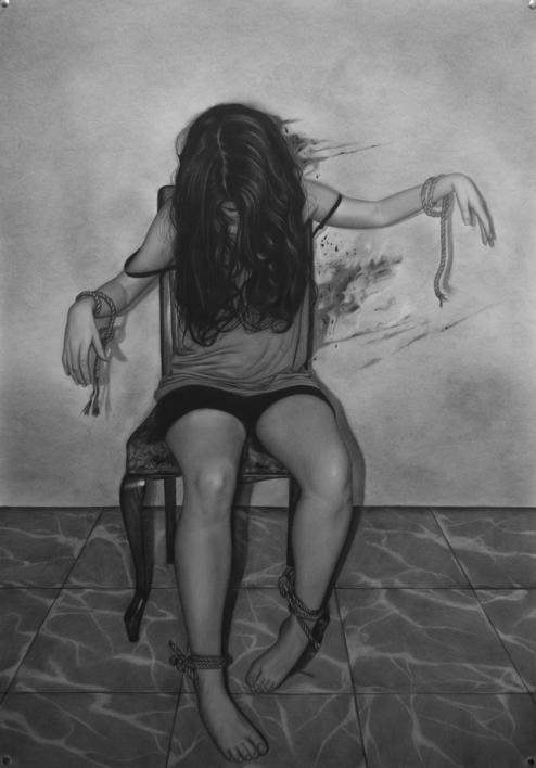 Hilos |Dibujo de Jose Díaz Ruano | Compra arte en Flecha.es
