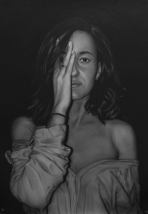 Recelo |Dibujo de Jose Díaz Ruano | Compra arte en Flecha.es