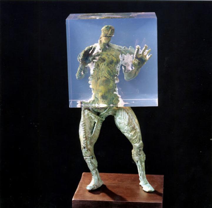 OCLUSIÓN PARCIAL |Escultura de Fernando Suárez | Compra arte en Flecha.es