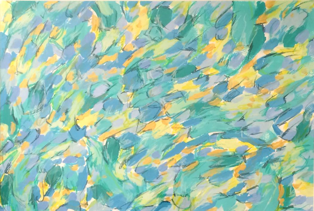 Box of Rain |Pintura de Rocío Cervera | Compra arte en Flecha.es