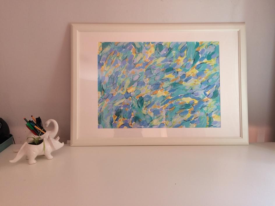 Box of Rain | Pintura de Rocío Cervera | Compra arte en Flecha.es
