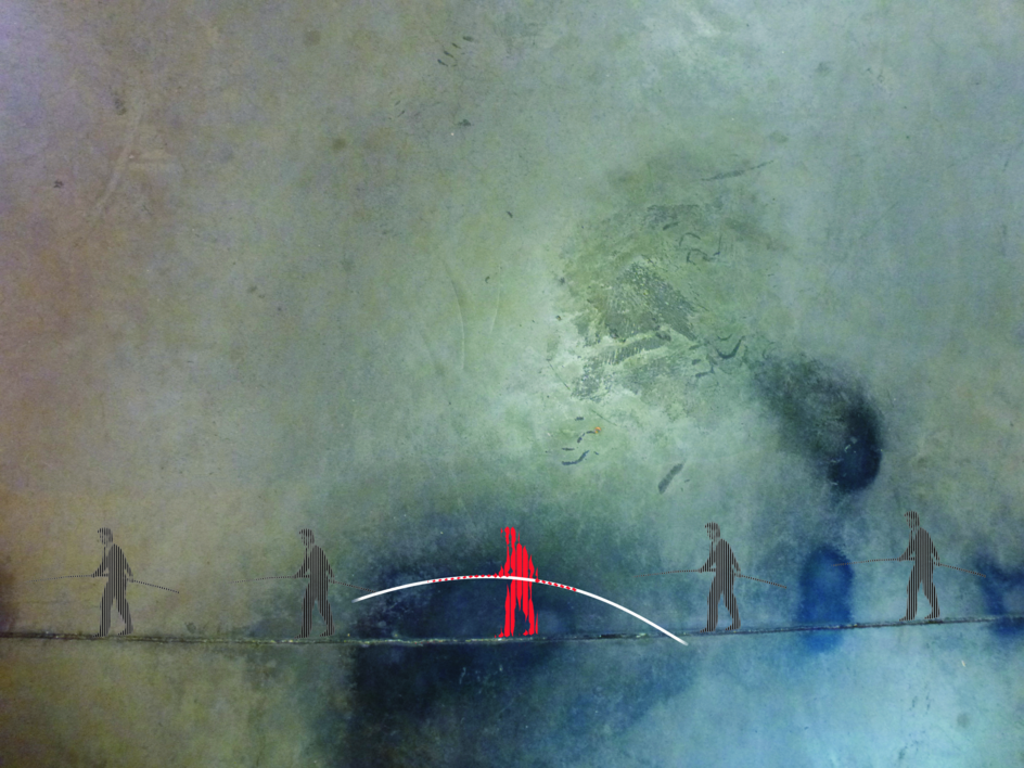 El funambulista |Digital de Albarran | Compra arte en Flecha.es