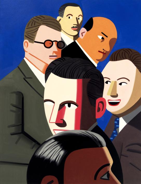 Farsa 1 |Pintura de Juan de la Rica | Compra arte en Flecha.es