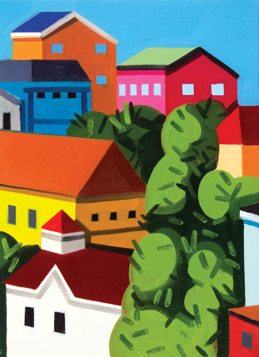 Pequeño paisaje 4 |Pintura de Juan de la Rica | Compra arte en Flecha.es