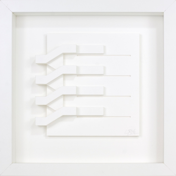 Escalera 06 |Escultura de pared de Luis Pérez Vega | Compra arte en Flecha.es