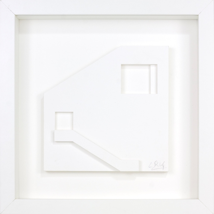 Escalera 12 |Escultura de pared de Luis Pérez Vega | Compra arte en Flecha.es