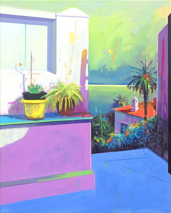 Paraíso 3 |Pintura de Benito Salmerón | Compra arte en Flecha.es