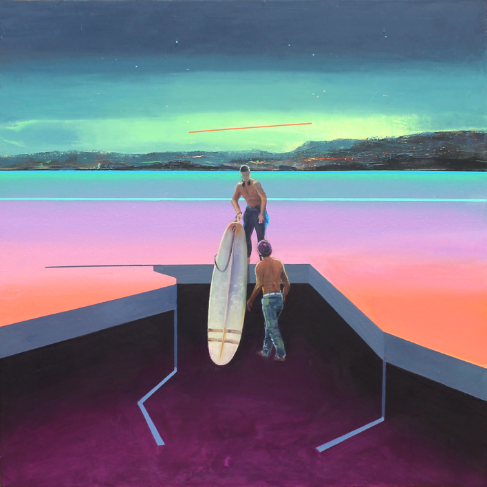 Refugio 17 |Pintura de Benito Salmerón | Compra arte en Flecha.es