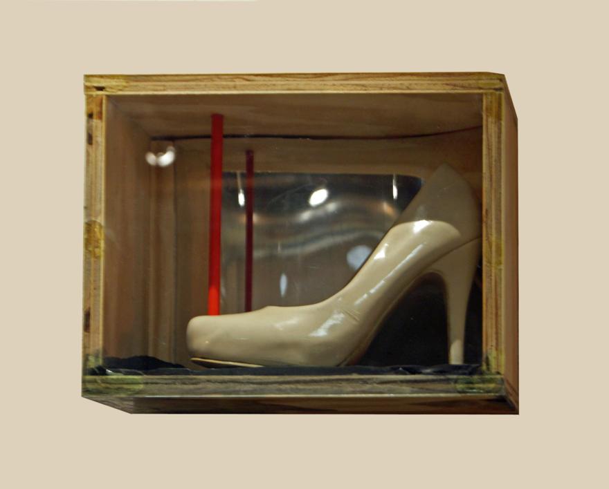 00d5506b Zapato celestial | Collage de Gabriel Morera | Compra arte en Flecha.es