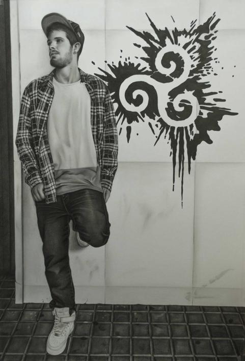 Equilibrio |Dibujo de Jose Díaz Ruano | Compra arte en Flecha.es