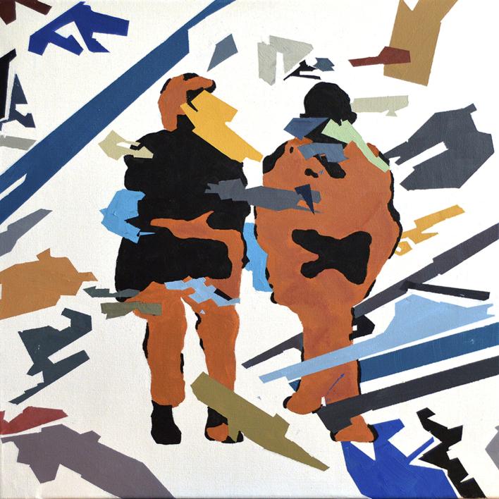 RESILIENTE_01_003 |Pintura de José Luis Albués | Compra arte en Flecha.es