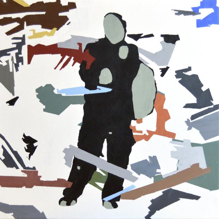 RESILIENTE_01_026 |Pintura de José Luis Albués | Compra arte en Flecha.es