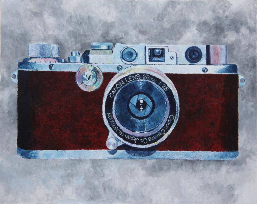Cámara roja |Pintura de Miguel Ortega Mesa | Compra arte en Flecha.es