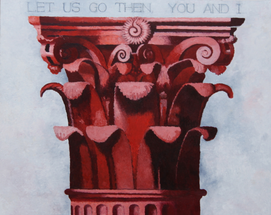 Corintio Rojo I |Pintura de Miguel Ortega Mesa | Compra arte en Flecha.es