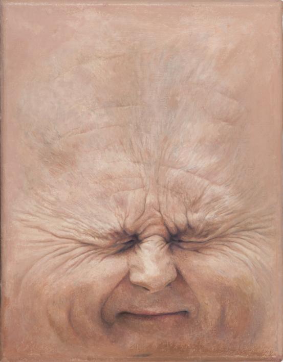 Trozos de Carne: Trichet |Pintura de Erick Miraval | Compra arte en Flecha.es