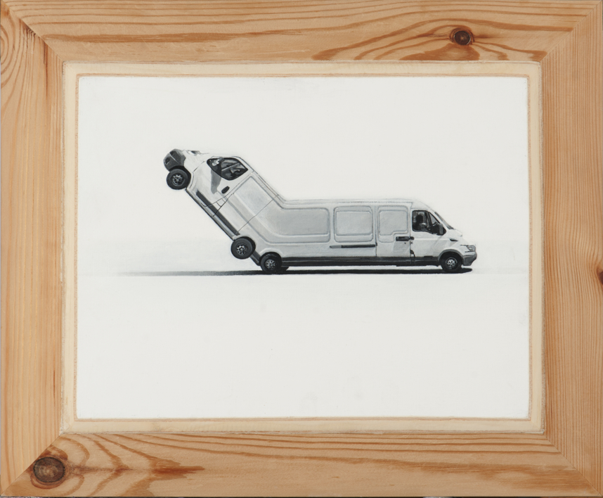 Movimiento Irracional I |Pintura de Erick Miraval | Compra arte en Flecha.es