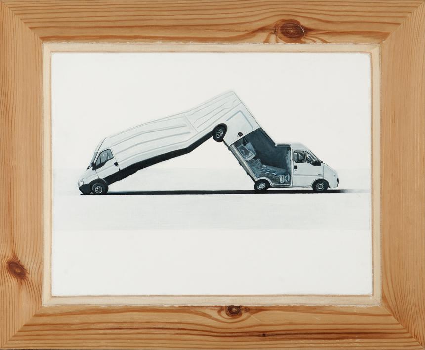 Movimiento Irracional II |Pintura de Erick Miraval | Compra arte en Flecha.es