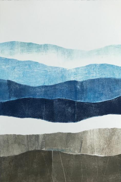 Montañas 3 |Pintura de Milena Mateva | Compra arte en Flecha.es