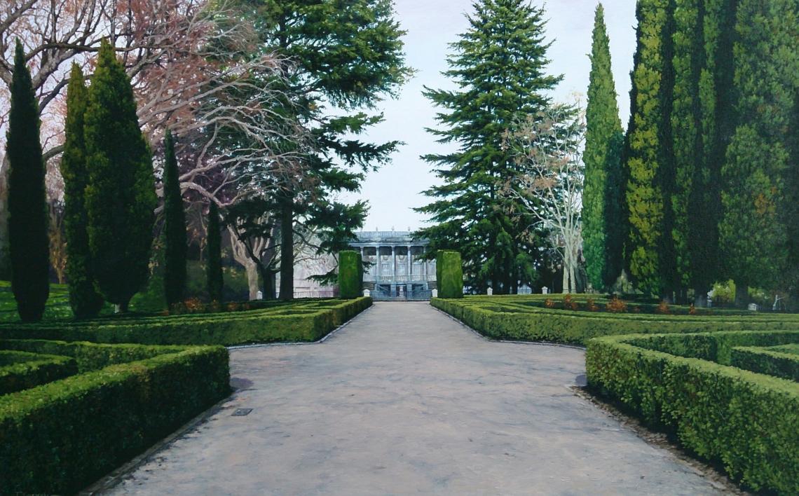 Palacio de Osuna |Pintura de Tomás Guzmán | Compra arte en Flecha.es