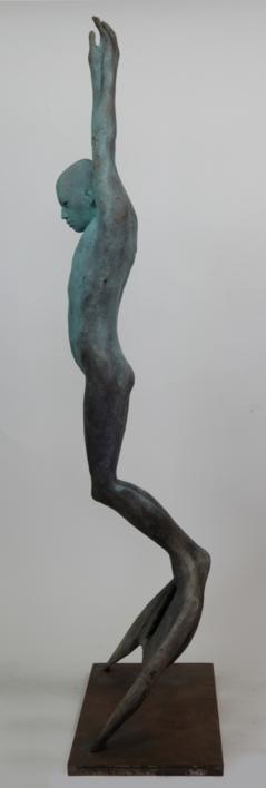 Tritón | Escultura de Jesús Curiá | Compra arte en Flecha.es