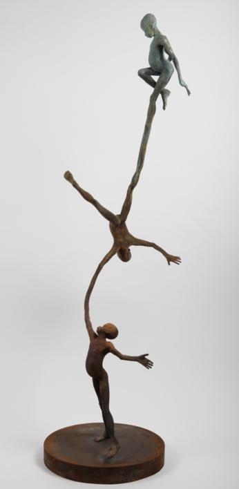 Juego III |Escultura de Jesús Curiá | Compra arte en Flecha.es