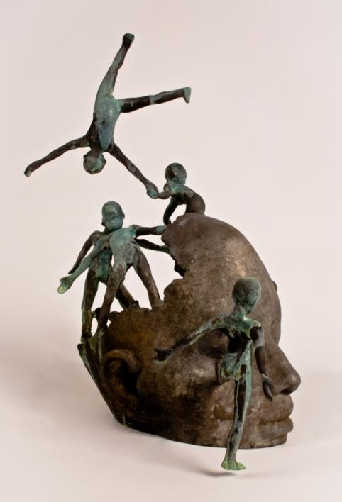 Pather | Escultura de Jesús Curiá | Compra arte en Flecha.es