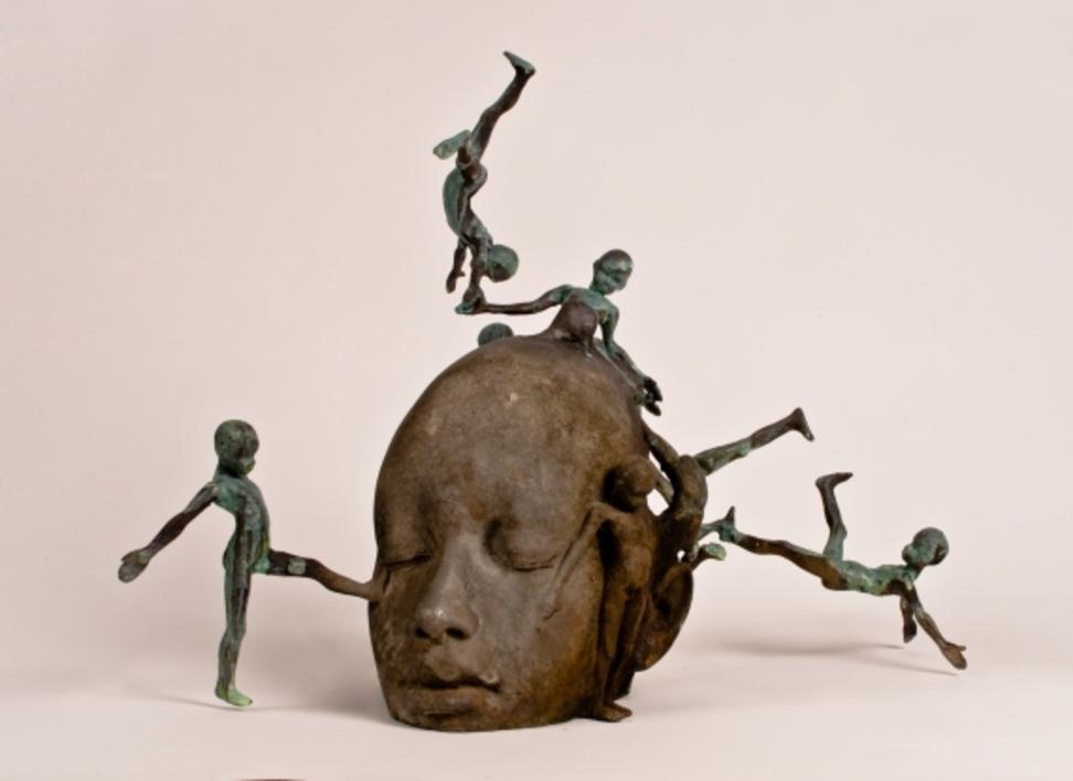 Pather |Escultura de Jesús Curiá | Compra arte en Flecha.es