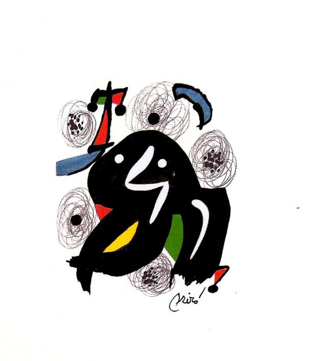 LA MELODÍA ÁCIDA (IV) 1215 |Obra gráfica de Joan Miró | Compra arte en Flecha.es