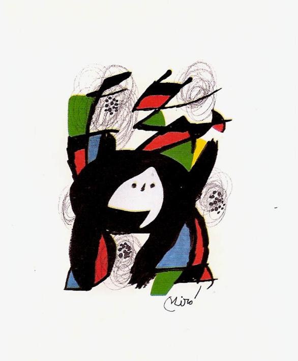 LA MELODÍA ÁCIDA (VIII) 1219 |Obra gráfica de Joan Miró | Compra arte en Flecha.es