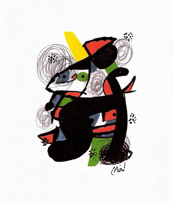 LA MELODÍA ÁCIDA (XI) 1222 |Obra gráfica de Joan Miró | Compra arte en Flecha.es