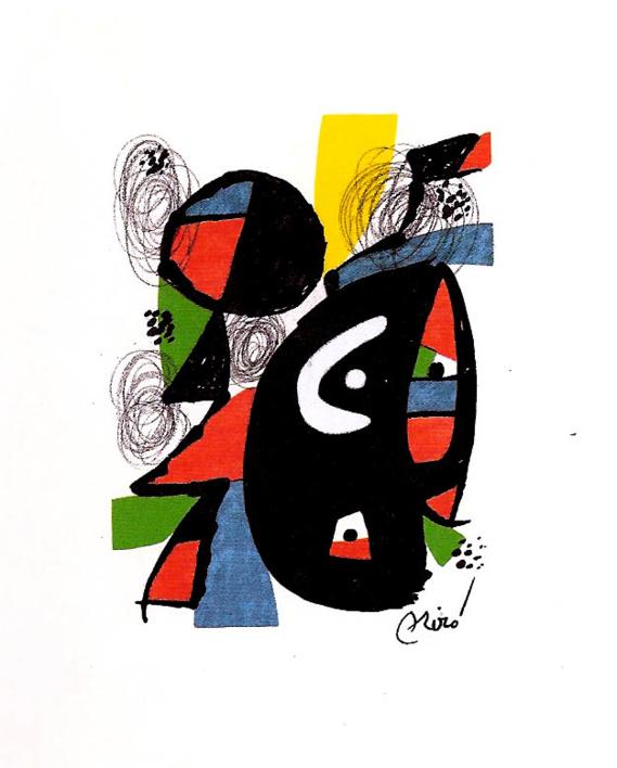 LA MELODÍA ÁCIDA (XII) 1223 |Obra gráfica de Joan Miró | Compra arte en Flecha.es