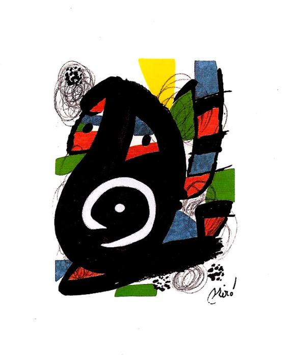 LA MELODÍA ÁCIDA (XIV) 1225 |Obra gráfica de Joan Miró | Compra arte en Flecha.es
