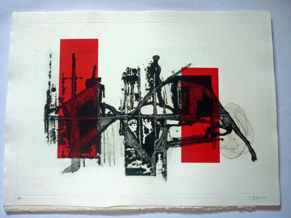 El paso del tiempo  Obra gráfica de Carmina Palencia   Compra arte en Flecha.es