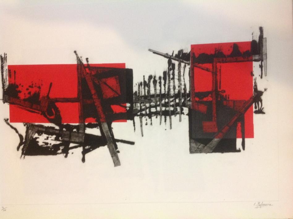 Barcas |Obra gráfica de Carmina Palencia | Compra arte en Flecha.es
