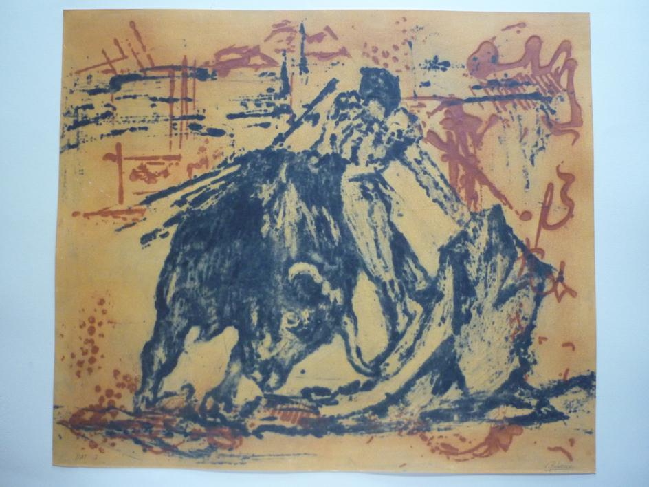 TaurinoV |Obra gráfica de Carmina Palencia | Compra arte en Flecha.es