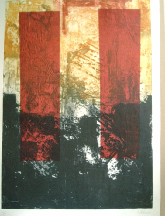 Torres |Obra gráfica de Carmina Palencia | Compra arte en Flecha.es