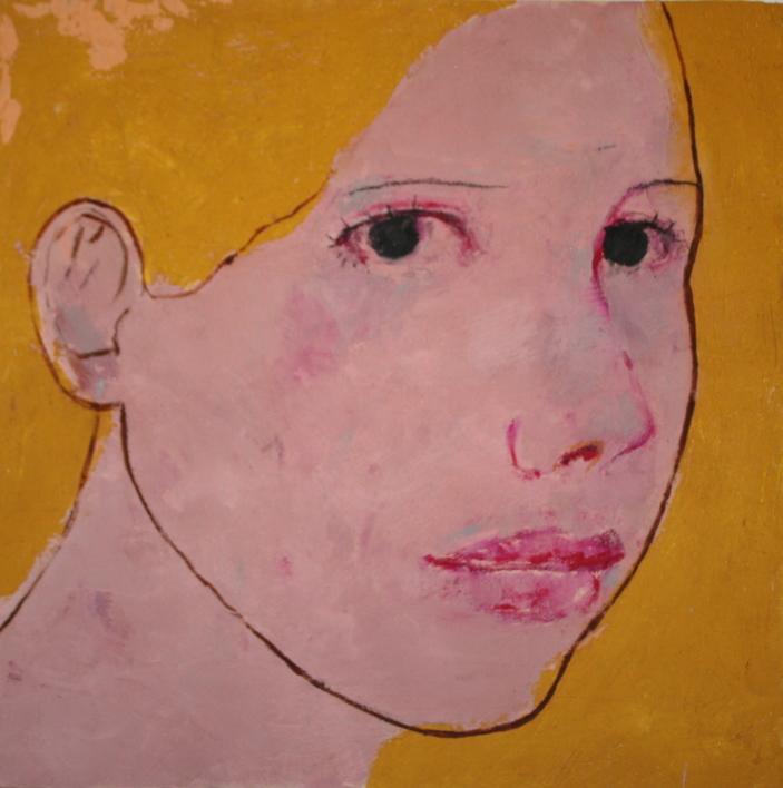 """""""INES""""  Pintura de Eduardo Salazar   Compra arte en Flecha.es"""