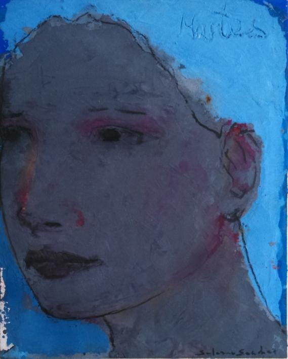 """""""VICTORIA""""  Pintura de Eduardo Salazar   Compra arte en Flecha.es"""