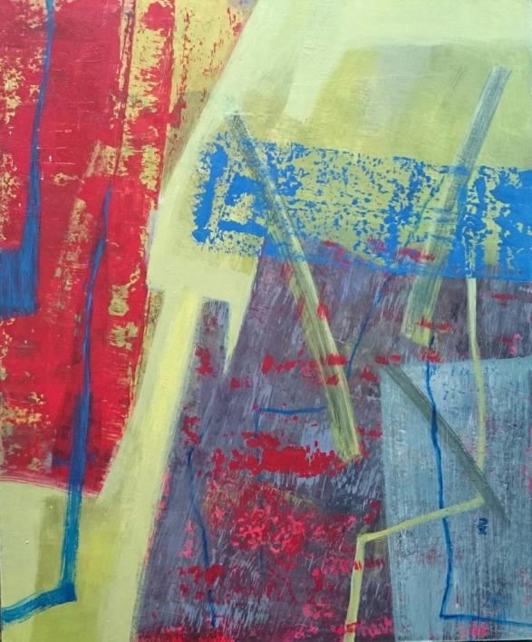 S / T      Serie:   TEXTURAS DE COLOR   Ref.  127 |Pintura de Patxo  Cruceta | Compra arte en Flecha.es