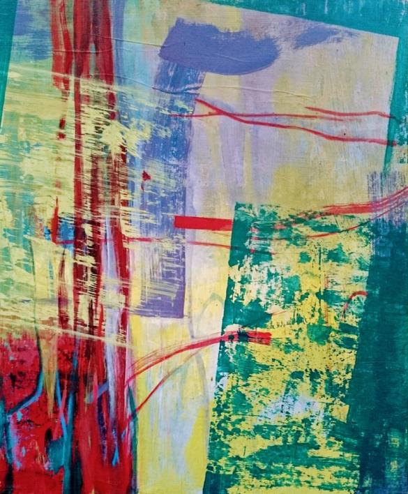 S/T SERIE TEXTURAS DE COLOR REF.129 |Pintura de Patxo  Cruceta | Compra arte en Flecha.es
