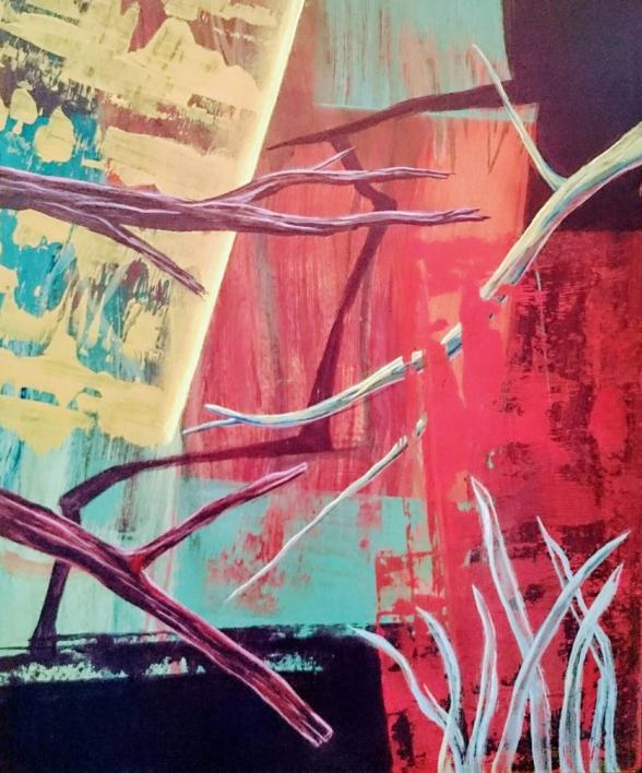 S/T Serie TEXTURAS DE COLOR REF. 131 |Pintura de Patxo  Cruceta | Compra arte en Flecha.es