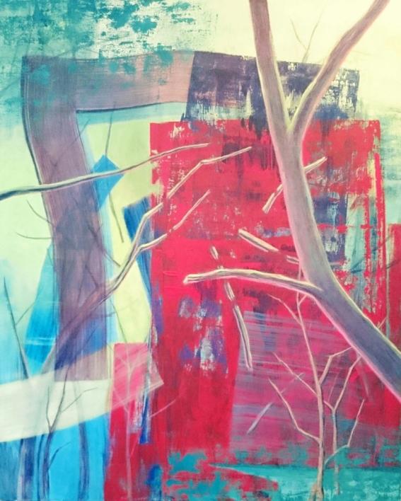 S/t Serie TEXTURAS DE COLOR REF. 133 |Pintura de Patxo  Cruceta | Compra arte en Flecha.es