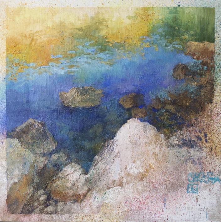 MAR |Pintura de ÁNGELES CERECEDA | Compra arte en Flecha.es