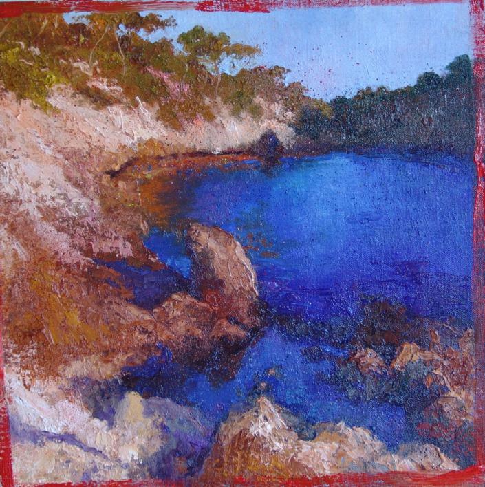 CALA |Pintura de ÁNGELES CERECEDA | Compra arte en Flecha.es